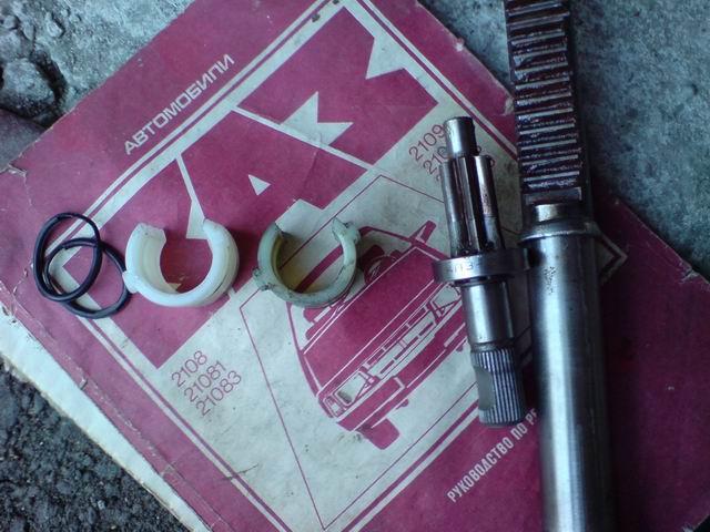 Ремонт рулевой рейки своими руками ваз 21099