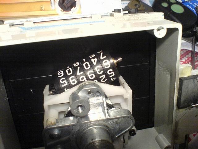 Корректировка механического одометра.